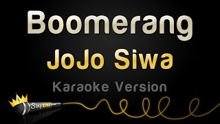 Video JoJo Siwa - Boomerang (Karaoke Version) download MP3, 3GP, MP4, WEBM, AVI, FLV Desember 2017