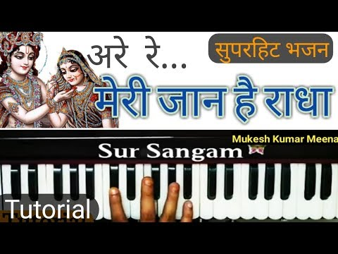 मेरी जान है राधा I Harmonium I Piano I Most Popular Radha Krishna Bhajan I Sur Sangam