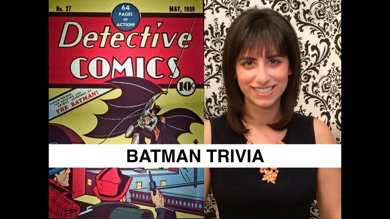 BATMAN TRIVIA //Dark Knight, Dark Knight Rises, Batman v ...