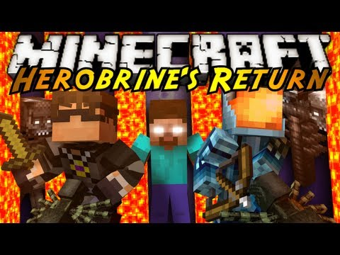Minecraft: Herobrine's Return Part 2!