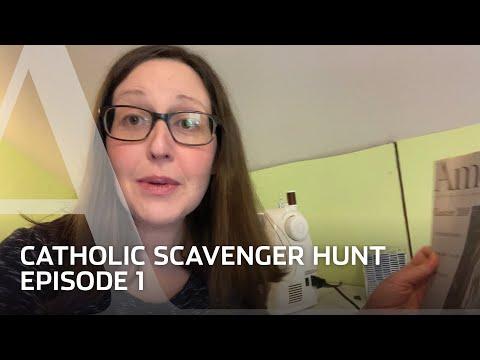 America editors go on a Catholic Scavenger hunt: Episode 1
