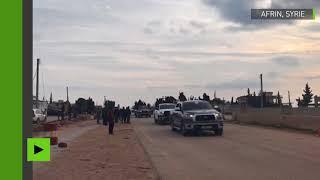 Les milices pro-Damas sont entrées dans l'enclave kurde d'Afrin