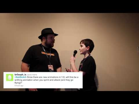 Notch Answers Minecraft 1.8 Questions - Community Questions For Markus (Notch) Persson