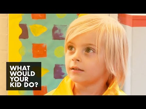 Kids Attempt to Trick the Teacher | What Would Your Kid Do?