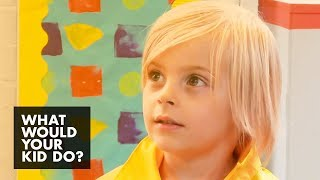 Kid Attempts to Trick the Teacher | What Would Your Kid Do?