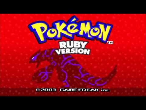 Battle! Wild Pokémon High Quality  Pokémon Ru & Sapphire
