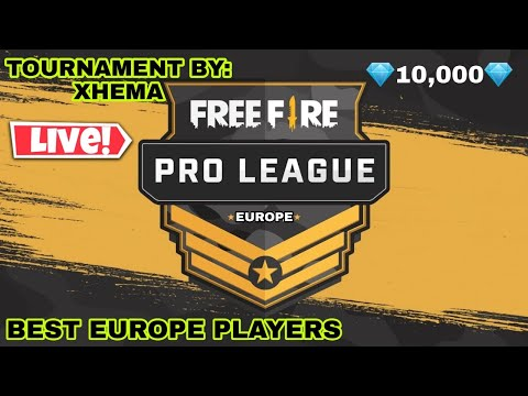💎TOURNAMENT💎 10000💎 FREE FIRE LIVE GROUP 5