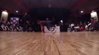 B-Girl Battle 1on1 Top 4 / Lerok vs San Andrea / Au-Delà Des Préjugés Festival 2017