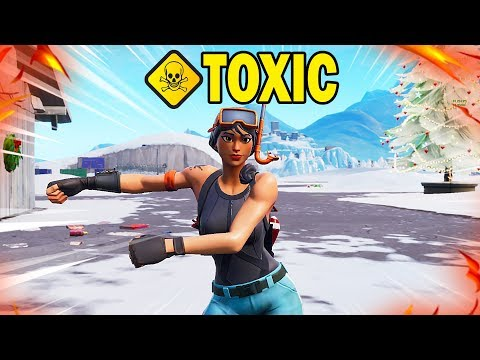 I Met The Most TOXIC Fortnite Player In Duos.....