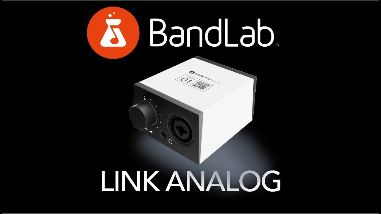 Want To Start Recording Music You Need The Bandlab Link Analog Cable Neutrik Xlr 1 4quot Combo Jacks And Phantom Power Sound Design