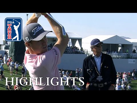 Justin Thomas' extended highlights | Round 2 | Waste Management