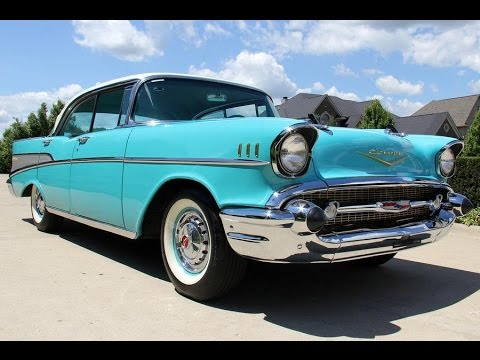1957 Chevrolet 4 Door Bel Air For Sale