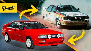 Everything Interesting about Audi's Rally Car for the Street