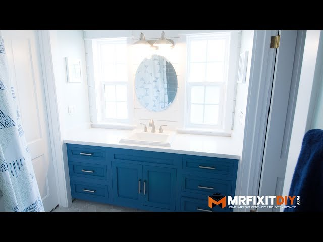 DIY Bathroom Remodel | Start to Finish (Time-lapse)