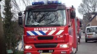 PRIO 1 TS47-1 TS46-1 AL46-1 Schuurbrand Pruimendijk Ridderkerk