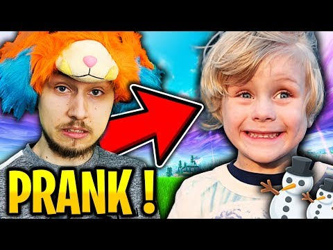 JE TOMBE SUR UN MEGA GROS TROLL FRANCAIS SUR FORTNITE BATTLE ROYALE !