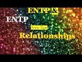 INFP Relationships: INFP and ENTP