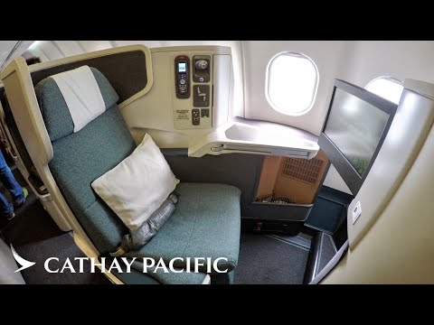Cathay Pacific A330 Business Class - Sydney-Hong Kong