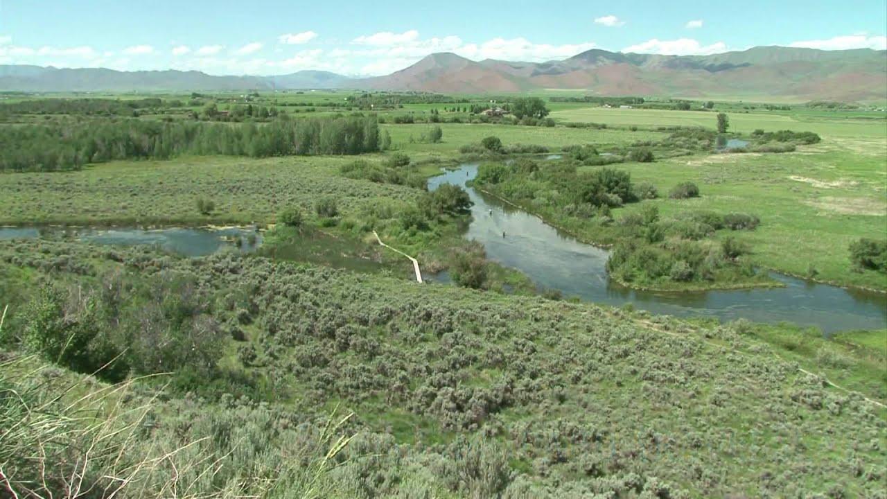 Southern idaho travelbeat silver creek preserve youtube for Silver creek idaho fishing