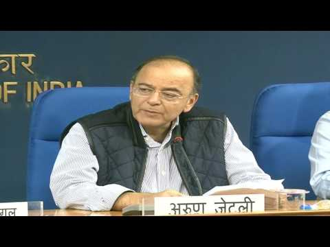 Cabinet Briefing by Shri Arun Jaitley, Minister of Finance & Corporate Affairs