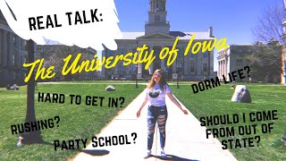 should you go to the university of iowa? ☆ real talk & tea