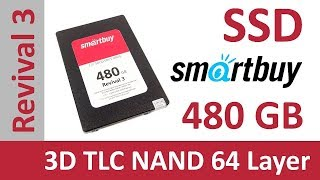 SSD диск SMARTBUY Revival 3 480 Гб SATA III 3D TLC NAND (SB480GB-RVVL3-25SAT3)