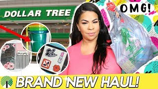 DOLLAR TREE HAUL 2018! NEW DOLLAR STORE FINDS + The Cutest Stickers EVER! Sensational Finds