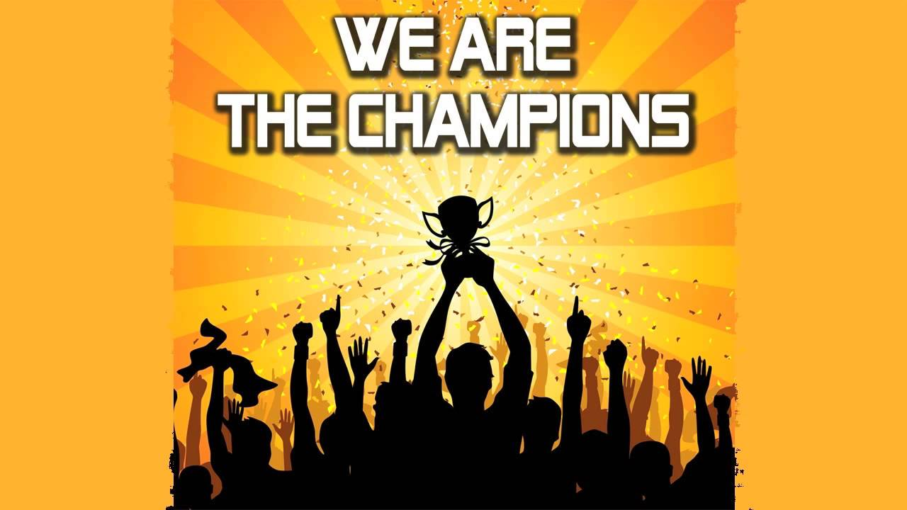 We are the champions ubersetzung