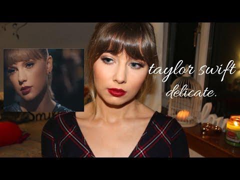 Taylor Swift 'Delicate' Makeup Tutorial | Rebecca Smile