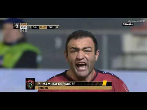 """Romain Poite exclut temporairement Mamuka Gorgodze pour """"avoir dit non avec la tête"""""""