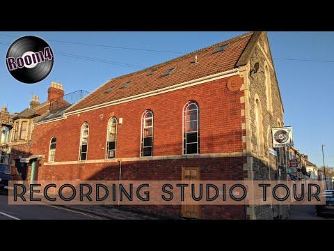 Recording Studio Tour
