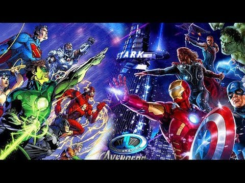 the avengers marvel vs justice league dc couch surfers 9
