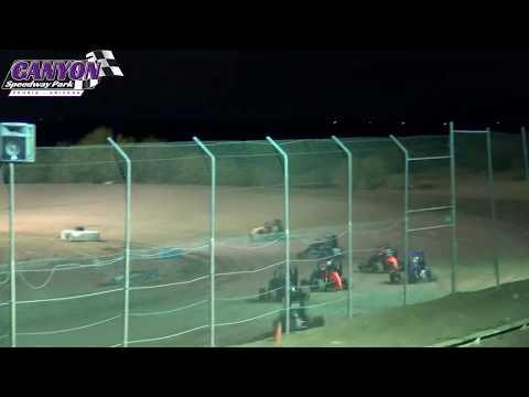Canyon Speedway Park  Micro Sprint Main September 14 2019