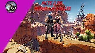 ACT 2 DE MORNE-LA-VALLEE - FORTNITE SAUVER THE WORLD