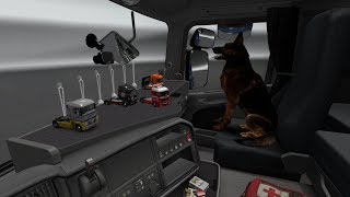 Euro Truck Simulator 2 Обзор мода (SISL'S MEGA  PACK) Кабинные Аксессуары