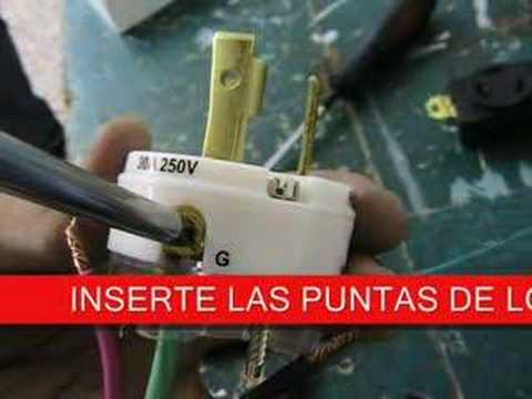 Como instalar un tomacorriente industrial youtube for Como instalar una terma electrica