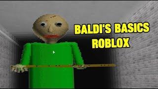 Nozioni di base di Baldi | Mappa di Roblox nozioni di base di BALDI