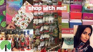 SHOP WITH ME AT DOLLAR TREE | NEW ITEMS | NOVEMBER 17 2018 | CHRISTMAS