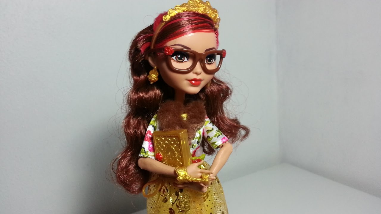 Review Ever After High Rosabella Beauty Youtube