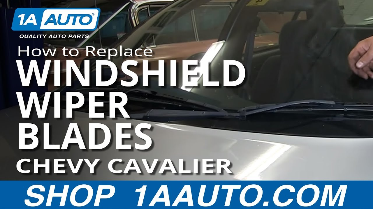 How To Install Change Worn Out Windshield Wiper Blades