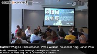 Messenger Games: Learnings, Challenges & Opportunities | PANEL