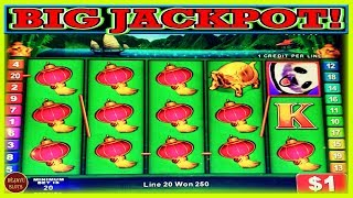 JACKPOT! ALL IT TAKES IS A LINE HIT! 112 FREE SPINS HIGH LIMIT CHINA SHORES