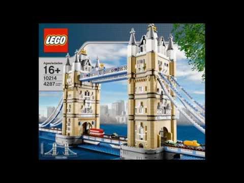 lego exclusive tower bridge 10214 new set youtube. Black Bedroom Furniture Sets. Home Design Ideas