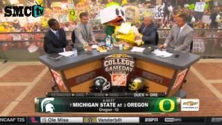 Michigan State v  Oregon  College Gameday picks (9/6/2014)