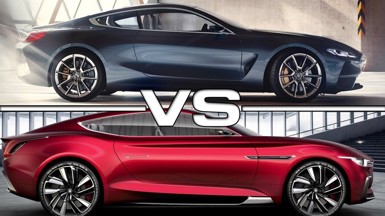 2018 Bmw 8 Series Vs 2018 Mg E Motion Concept Youtube