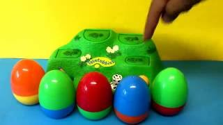 Pop Up Toy and Surprise Eggs