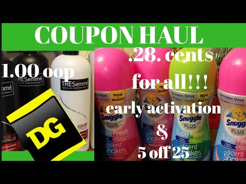 Dollar General 5 off of 25 and early activation out-of-pocket $1.28