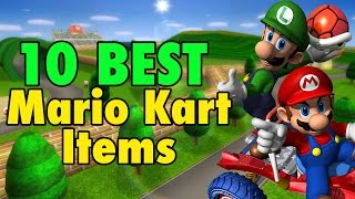 top 10 best mario kart items