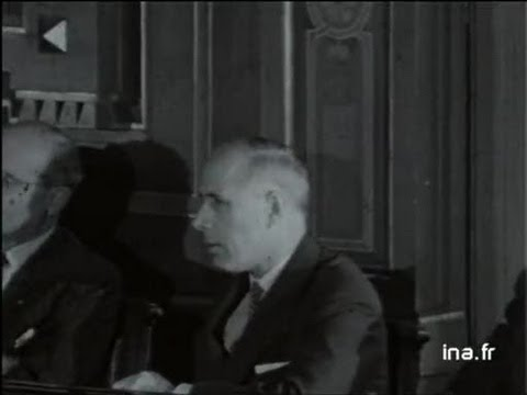 Edouard HERRIOT maire de Lyon : 50ème anniversaire