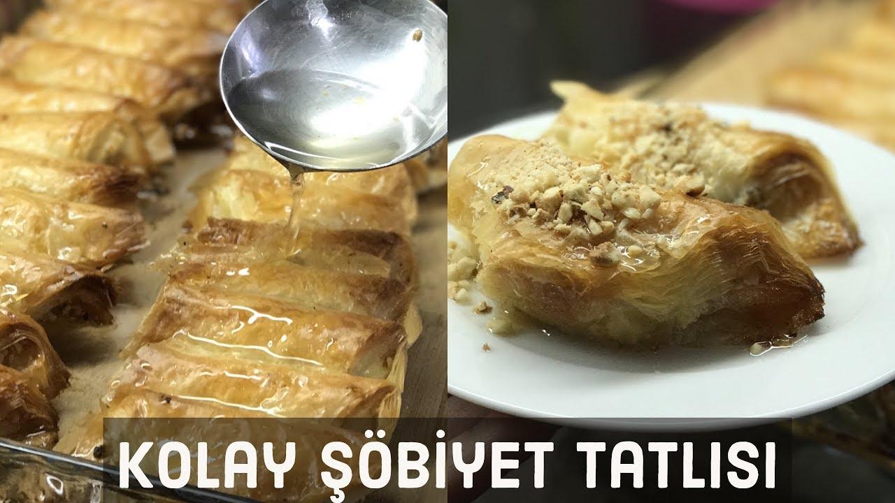 Şöbiyet Baklava Tarifi Videosu